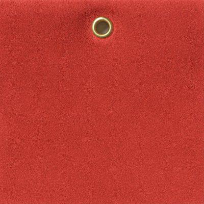 SUEDE - POPPY RED