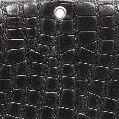 SADDLE LEATHER - AMADILLO BLACK